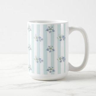 Blue & White Christmas Coffee Mug