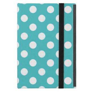Blue, White Polka-dots:Powis iCase iPad Mini Case