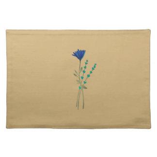 Blue Wild Flower Place Mat