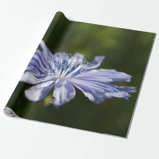 """Blue Wildflower Wrapping Paper, 30"""" x 6' Wrapping Paper"""