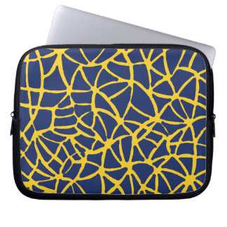 blue-yellow computer sleeves