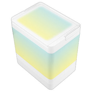 Blue & Yellow Ombre Chilly Bin