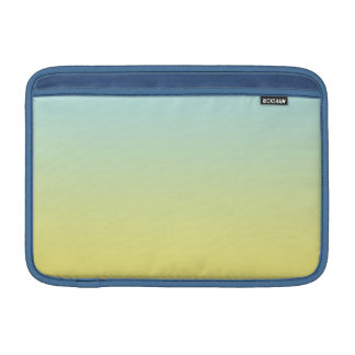 Blue & Yellow Ombre Sleeve For MacBook Air