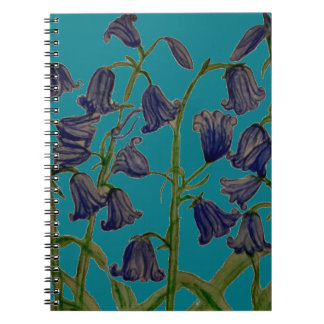 Bluebells on Spiral Notebook