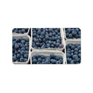 Blueberry Crates Address Label