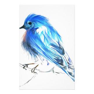 Bluebird of happiness stationery
