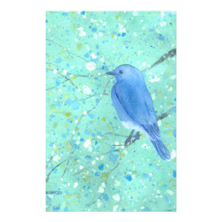 Bluebird stationary stationery