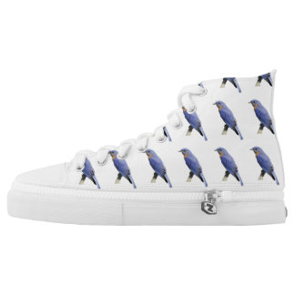Bluebirds Printed Shoes