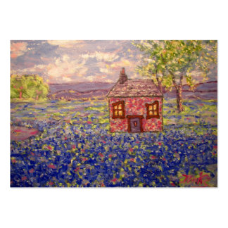 bluebonnet cottage pack of chubby business cards