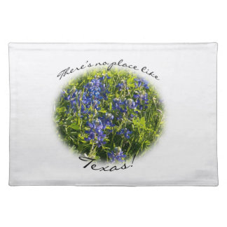 "Bluebonnet ""There's no place like Texas!"" Placemat"