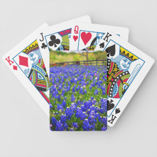 Bluebonnets in Your Hands Bicycle Poker Deck