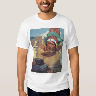 Blumenschein, Taos Native American Indian Portrait T-shirt