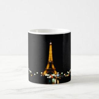 Blurry Eiffel Tower By Night Mug