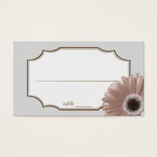 Blush Daisy Seating Place Cards