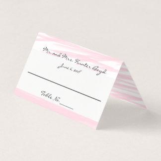 """""""Blushing Pink"""" Place Cards"""