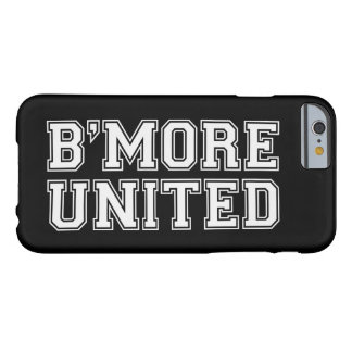 B'MORE UNITED Baltimore - White Text (Customize) Barely There iPhone 6 Case