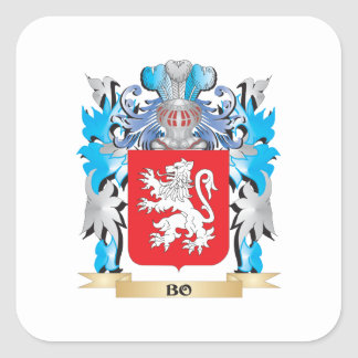Bo Coat of Arms Stickers