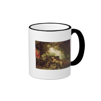 Boar Hunt, 1611 Mug