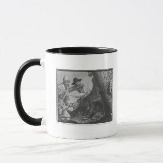Boar hunt mug