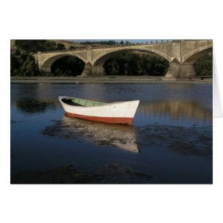 Boat and Bridge Card