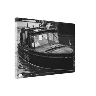 Boat Canvas Print,Rotterdam NL