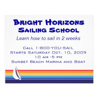 Boat Color Square_Office Package 21.5 Cm X 28 Cm Flyer