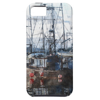 Boat-lovers Marina Watercolour Art Series iPhone 5 Covers