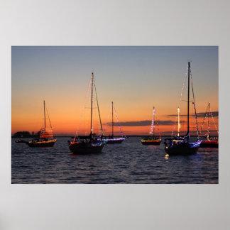 Boat Parade Print