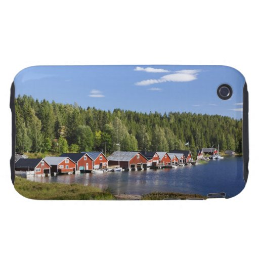 Boathouse at The High Coast iPhone 3 Tough Covers