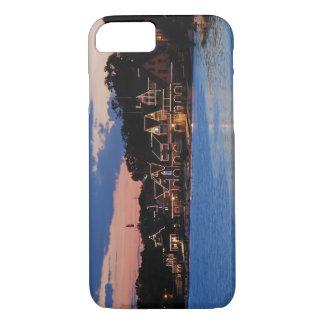 Boathouse Row dusk iPhone 8/7 Case
