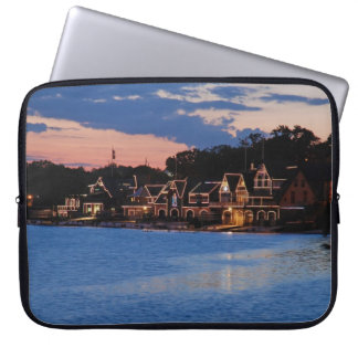 Boathouse Row dusk Laptop Sleeve