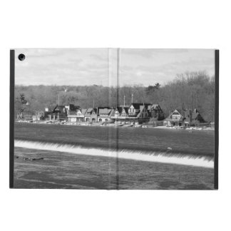 Boathouse Row winter b/w Case For iPad Air