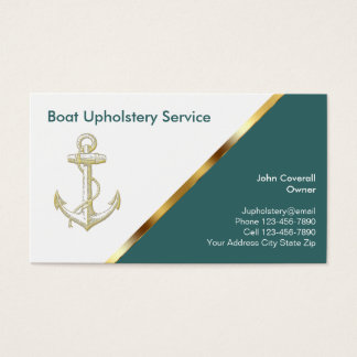 53 boat repair business cards and boat repair business for Upholstery business cards