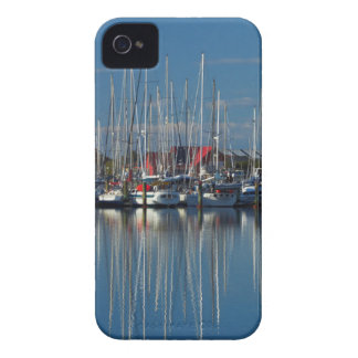 Boats at Nelson Marina 3 iPhone 4 Case-Mate Case