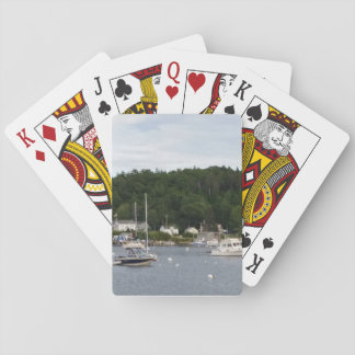 """""""Boats"""" Boothbay Harbor Classic Playing Cards"""