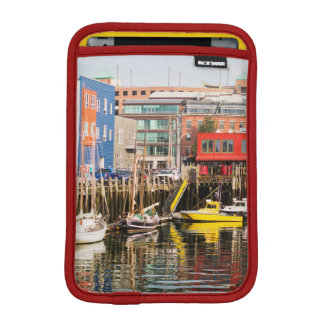 Boats Moored | Portland, Maine iPad Mini Sleeve