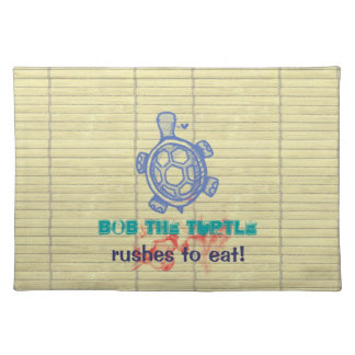 Bob the Turtle Placemats