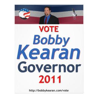 Bobby Kearan Campaign Flyer