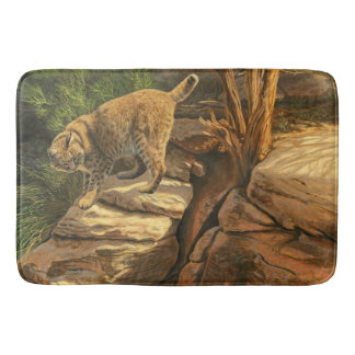 Bobcat Adventure - Bath Mat
