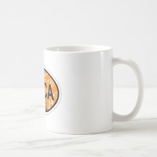Boca Raton - Oval Design. Coffee Mug