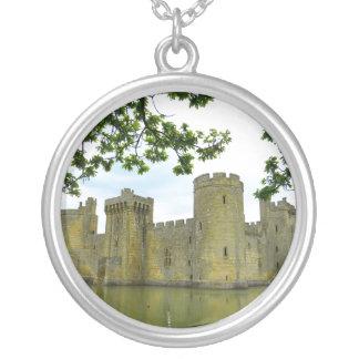 Bodiam Castle Silver Plated Necklace
