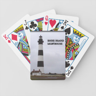 BODIE ISLAND LIGHTHOUSE--PLAYING CARDS