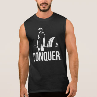 """Body building"" Motivation - CONQUER Sleeveless Shirt"