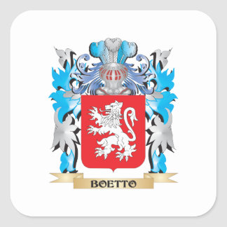 Boetto Coat of Arms Stickers