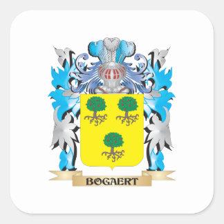 Bogaert Coat of Arms Square Sticker