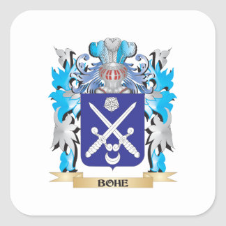 Bohe Coat of Arms Square Sticker