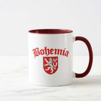 Bohemia Flag 1 (w/inscription) Mug