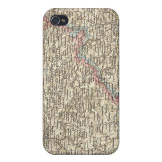 Bohemia, Moravia, Austrian Silesia 2 Covers For iPhone 4