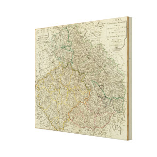 Bohemia, Silesia, Moravia, Lusatia Canvas Print
