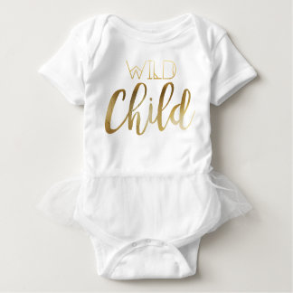 Bohemian Chic Wild Child | Tribal Gold Foil Tees